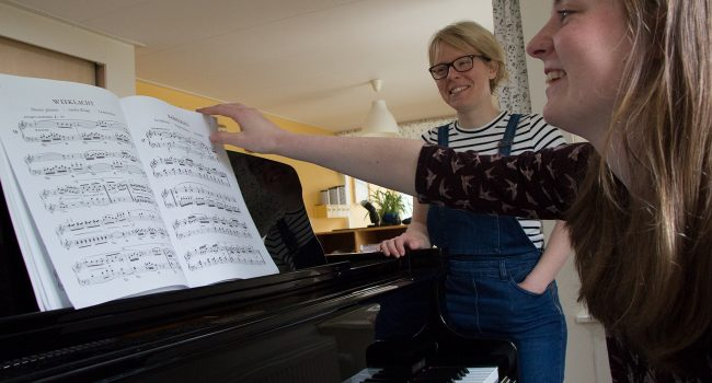 Pianoles Nootzaak Epe